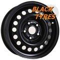 Диск колесный Trebl 9925T 7x16/5x112 D57.1 ET37 Black - фото 1