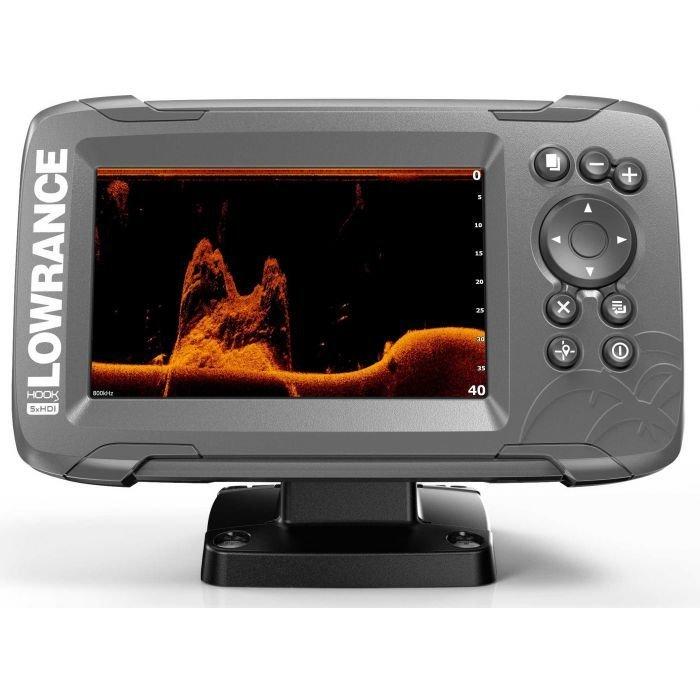 Эхолот-картплоттер Lowrance Hook2-5X GPS SPLITSHOT