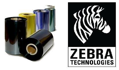 красящая лента wax resin zebra 84*74 zebra / 800130-103 / красящая лента 3200 wax/resin black 84 мм/ 74 м