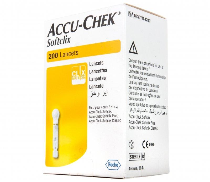 Ланцеты ROCHE Accu-Chek Софткликс №200