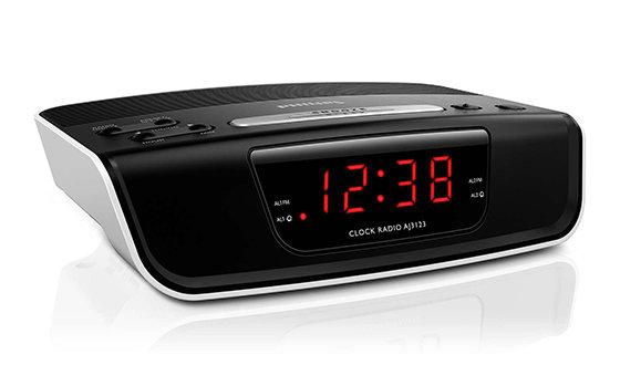 Philips Philips AJ3123/12 Черный, Наличие FM