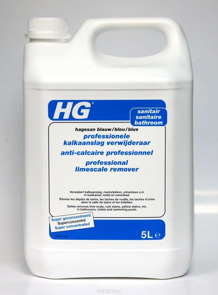 Универсальное чистящее средство HG для ванной и туалета, 5 л