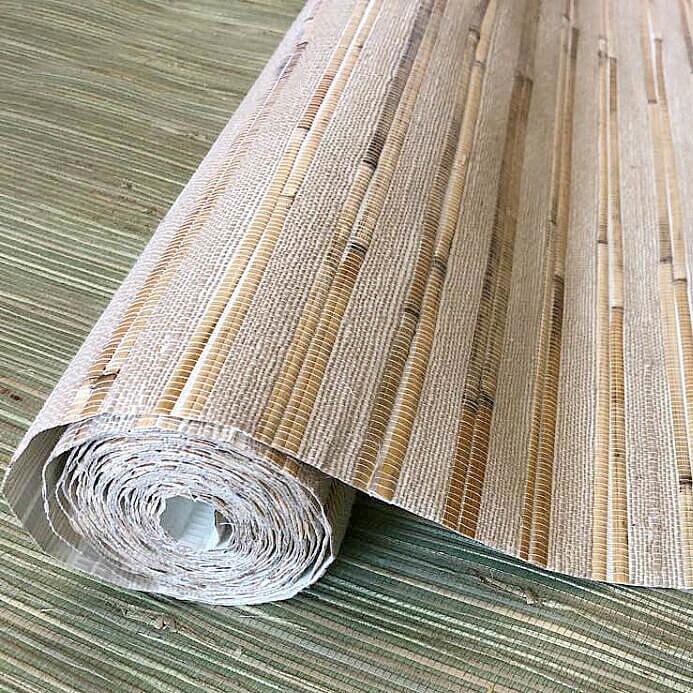 Cosca Натуральные обои бамбук-тростник D 3002 L (5,5 м)
