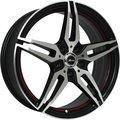 Колесный диск X-RACE AF-10 6.5x16/4x100 D60.1 ET36 Черный - фото 1