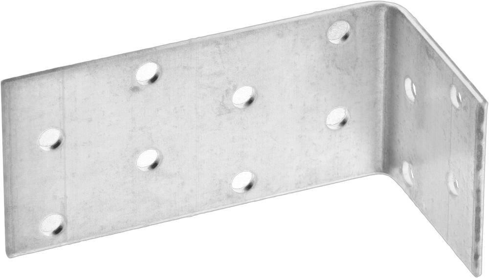 Крепежный угол анкерный 40х80х40 мм 20 шт Зубр МАСТЕР 310225-040-080
