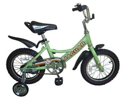 Велосипед Jaguar Детский двухколесный велосипед MS-A142 салатовый