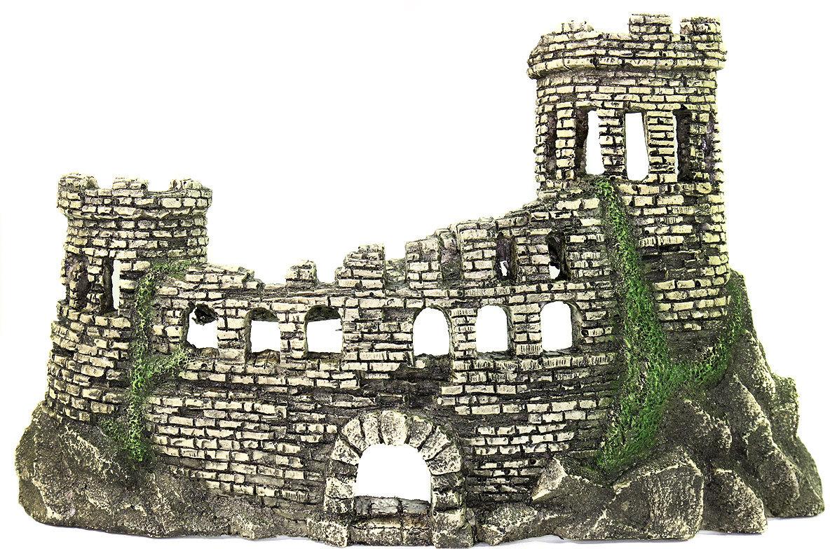 Аквариумная декорация Развалины крепости DEKSI № 221