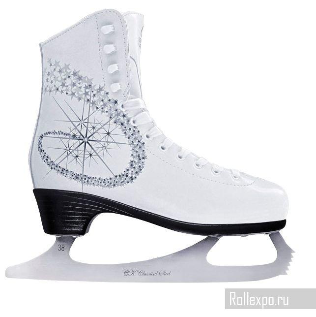 Фигурные коньки СК (Спортивная коллекция) Princess Lux 100% Leather (взрослые)