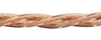 Ретро кабель (50м) 3*1.5 прозрачный, ПУП Подольсккабель