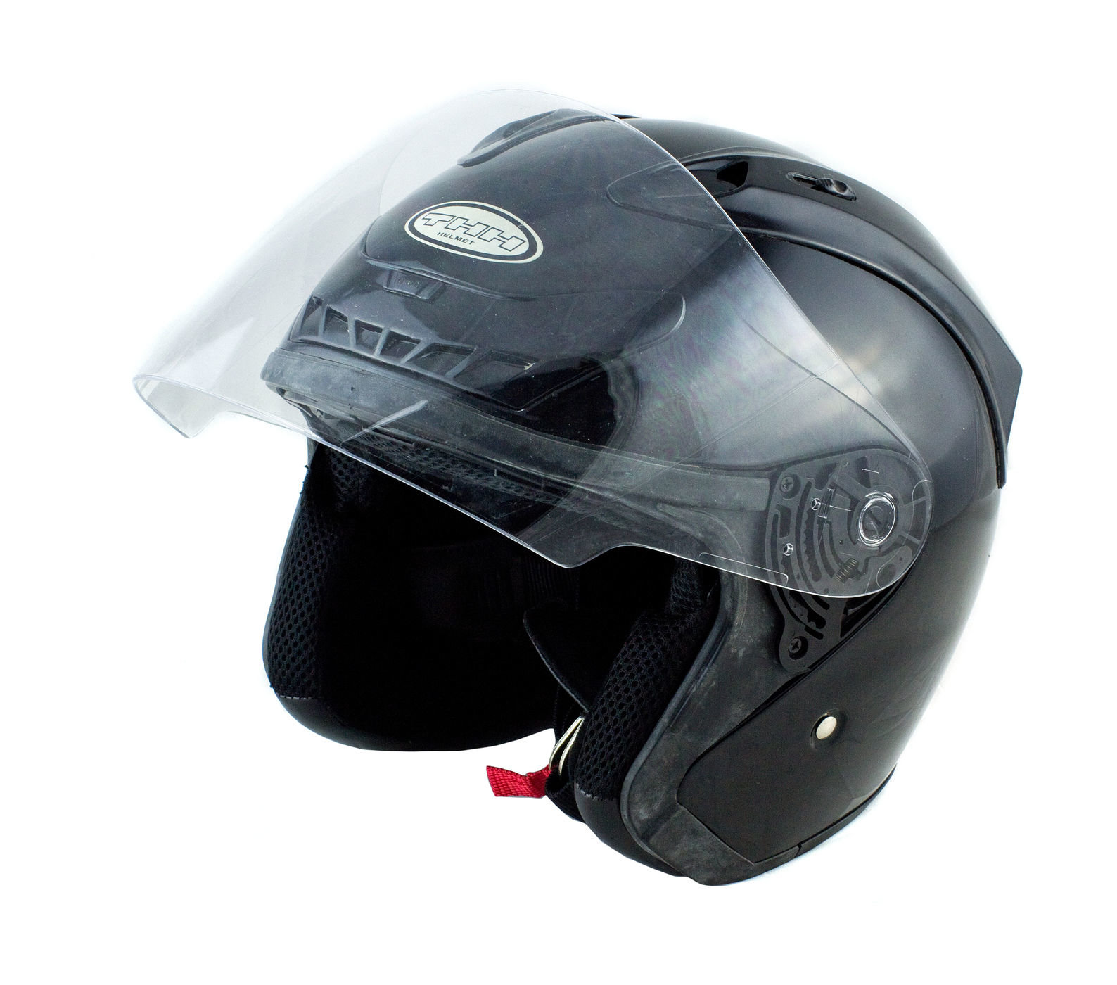 Шлем открытый THH AP77, чёрный, L art00145168