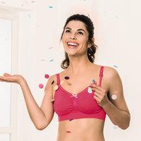 Бюстгальтер для кормления без косточек Anita Seamless Pink 5097/5290 [размер: L]