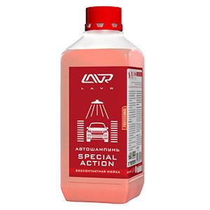 2256 Автошампунь-концентр. для бесконтактной мойки автомобиля (жесткая вода) Lavr 1,2 кг