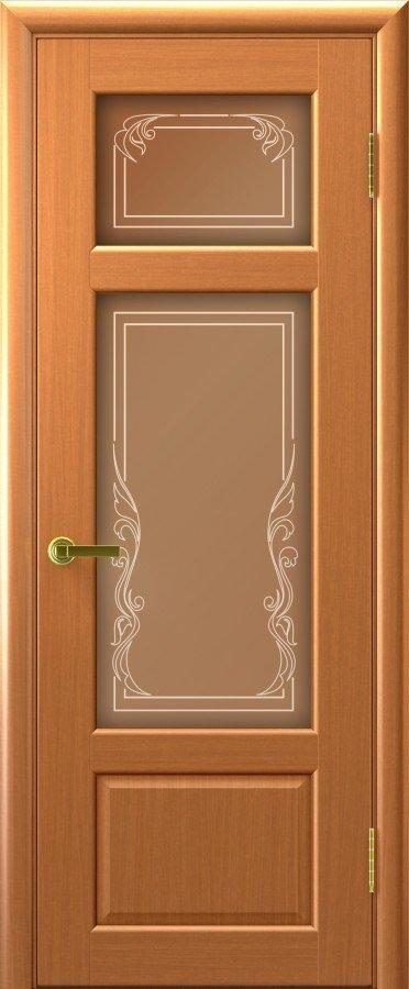 Межкомнатные двери в два цвета