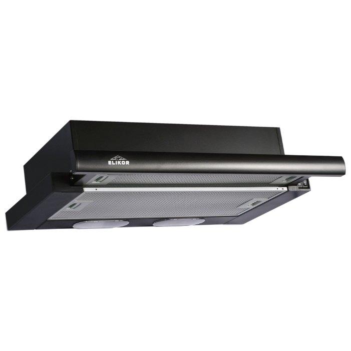Кухонная вытяжка ELIKOR Интегра 60П-400-В2Л черный/черный