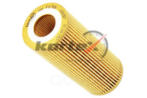 Фильтр масляный bmw e46/e60/e90/x5 (e53) KORTEX арт. KO0087