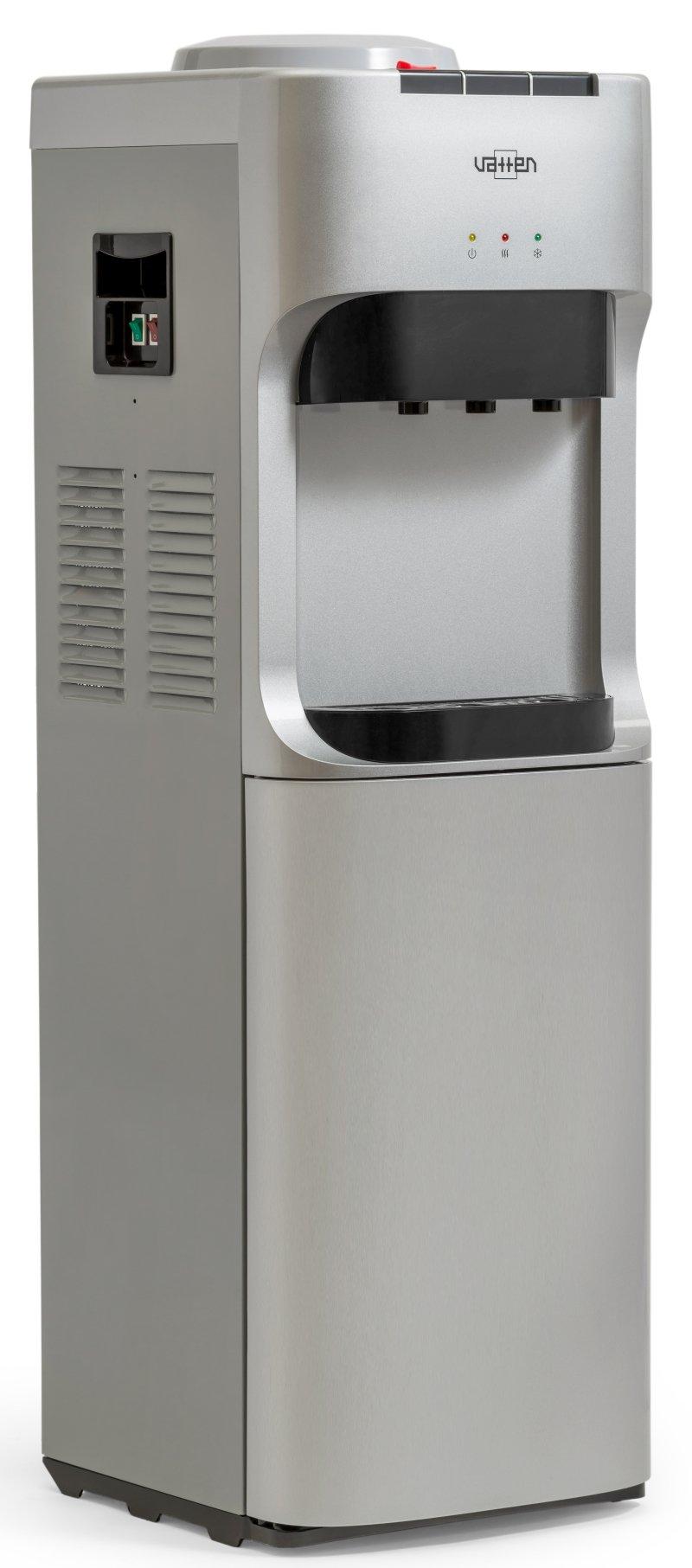 Кулер для воды Vatten V45SK напольный, с нагревом и охлаждением