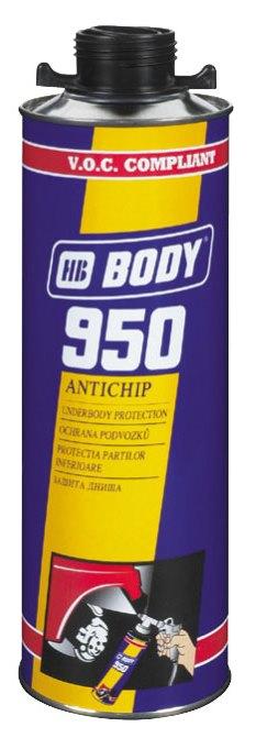 BODY 950 антикор черный 1кг (6шт.)