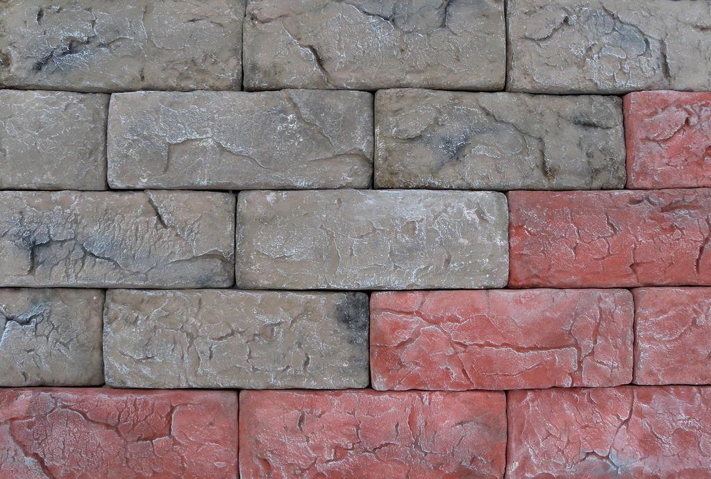 Искусственный камень глиняный кирпич CraftStone
