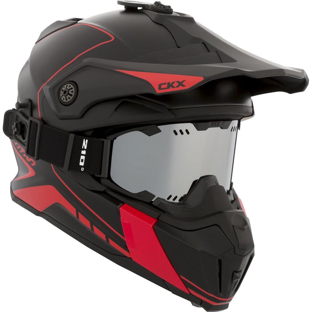 Шлем CKX Titan Atlas 210 (без очков), M, Серый