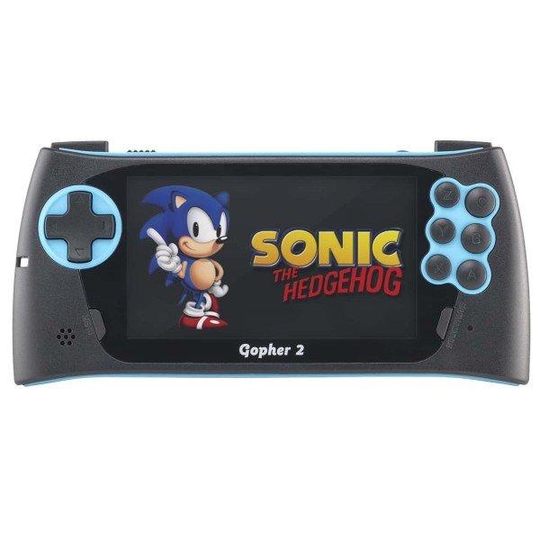 Игровая приставка Sega Genesis Gopher 2 (синяя)