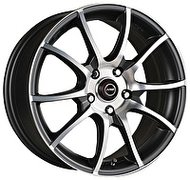 Racing Wheels H-470 6x14 4x100 ET 38 Dia 67.1 BK-ORD F/P - фото 1