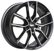 Диски BBS XA0203 8.5x18 ET46 5x112 d82 Black Diamond Cut - фото 1