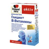 добавка пищевая Doppelherz Доппельгерц Актив Глицин + В-витамины