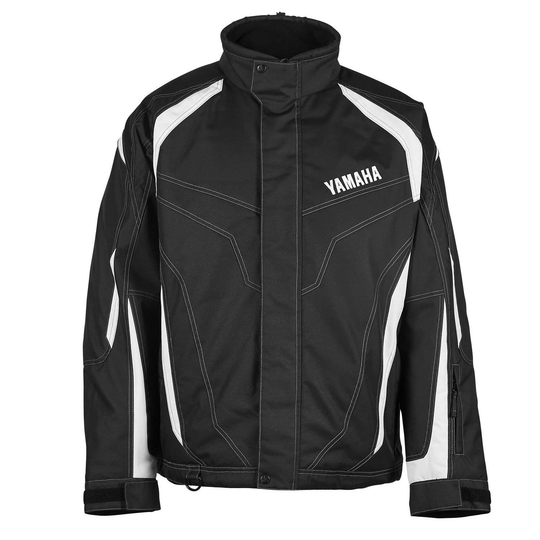Куртка снегоходная Yamaha Adventure, XXL, Черный / Белый