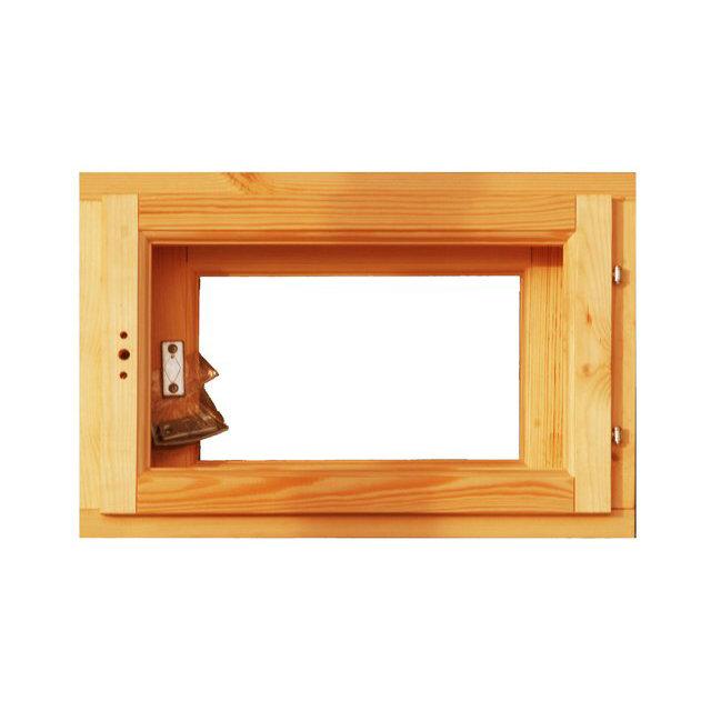 блок оконный двойной банный 0,6х0,8м с фурнитурой