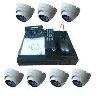 "Комплект видеонаблюдения ""Zodikam Combo Dome 7 POE"" (7 IP камер+регистратор)"