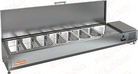 Витрины холодильные HICOLD VRTU 4