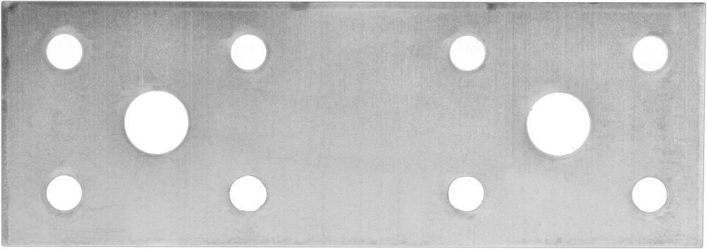 Крепежная пластина 140х55 мм 20 шт Зубр МАСТЕР 310235-140-55