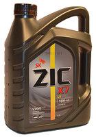 Моторное масло ZIC X7 LS 10W-40, 4 л