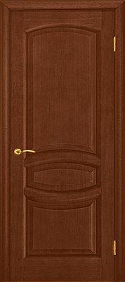 Межкомнатные двери Ульяновские Двери Анастасия Красное дерево Глухая