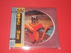10cc - Deceptive Bends/ CD [ SHM-CD/ Cardboard Sleeve (mini LP)/ + 3 Bonus Tracks/ + Obi Strip] [ Limited Edition] ( Remastered, Reissue 2014)
