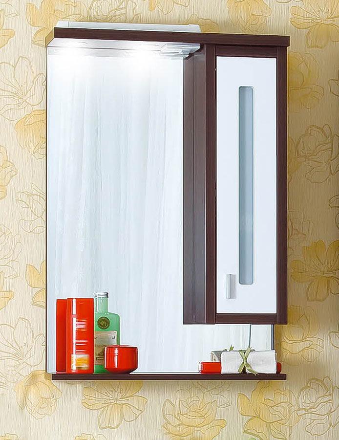 Зеркало Бали 62 венге/белый глянец Бриклаер