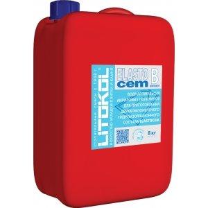 Гидроизоляция LITOKOL ELASTOCEM (литокол эластоцем), ( компонент В), 8 кг
