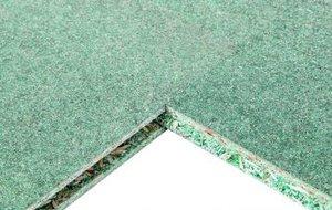 Древесно-плитные материалы (OSB, фанера) QuickDeck Professional 12 мм Влагостойкая шпунтованная плита 1830*600*12 мм
