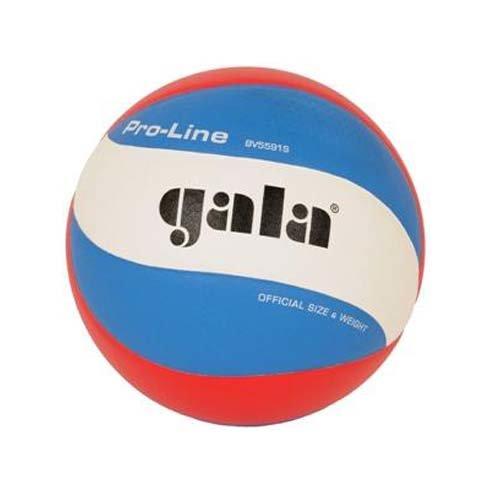 Мяч волейбольный Gala Pro-Line FIVB, 5, голубой, Профессиональный, Клееный