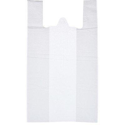 Пакет-майка ПНД, 30x55 см, 100 штук, белый