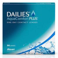 Контактные линзы Dailies AquaComfort Plus (90 линз)
