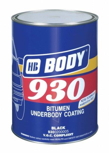 Антикор Body 930 черный (1 кг)