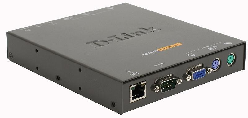 KVM-переключатель D-Link DKVM-IP1/E 1-портовый KVM over IP-переключатель