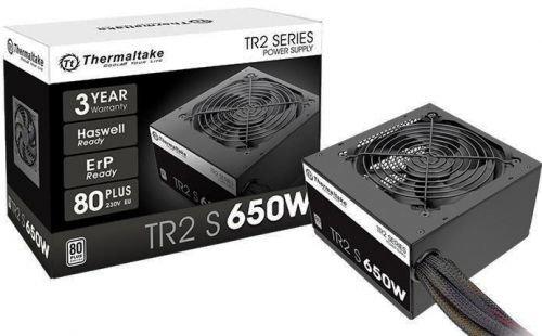 Блок питания ATX Thermaltake TR2 S/650W PS-TRS-0650NPCWEU-2 80 Plus, белый