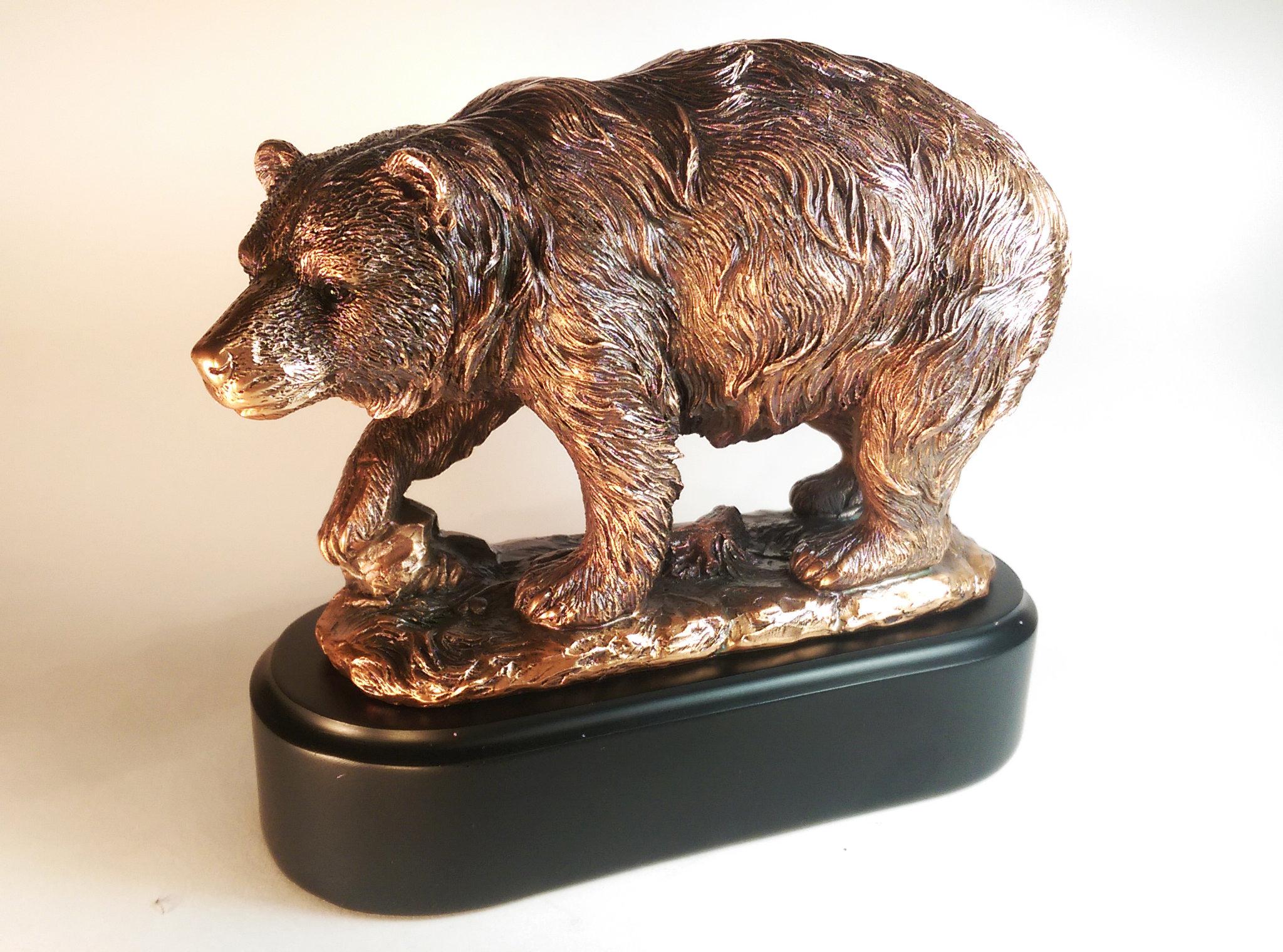 Статуэтка «Бурый медведь»