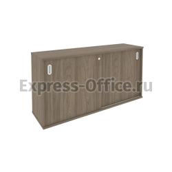 Рива Офисная мебель Metal system style Шкаф-купе приставной Б.ШК-1 1475x410x750