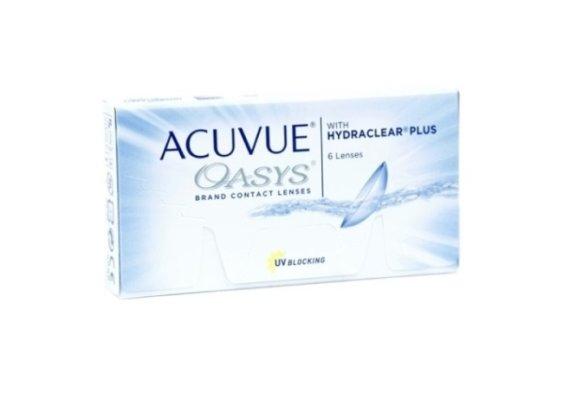 Контактные линзы Acuvue Acuvue Oasys with Hydraclear Plus 6 шт (8.8, -9.50)