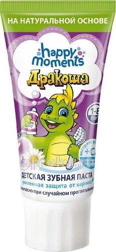 Дракоша зубная паста гелевая д/дет60мл/bubble gum/