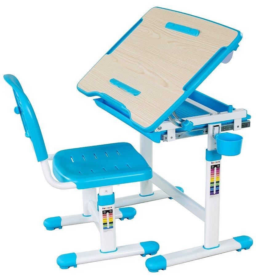Парта Fundesk bambino blue парта и стул-трансформеры