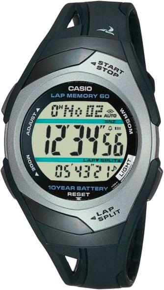 Японские спортивные наручные часы Casio Collection STR-300C-1V